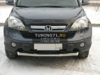 Honda CR-V  защита переднего бампера d63  HCZ-000193